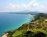 博鳌山钦湾山崖海景高尔夫球场